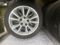 Vauxhall Astra 17 inch alloy wheels