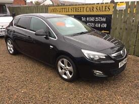 Vauxhall Astra 1.6 automatic 60 Reg 2010 60,000 miles immaculate finance available