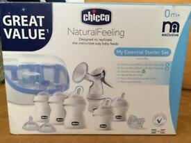 Chicco microwave steriliser and breast pump