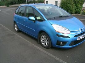 C4 Picasso,nice car, excellent condition inside and out, rear parking sensors, towbar, low miles,