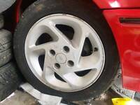 Ford escort rs turbo alloy wheels