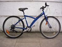 Mountain/ Commuter Bike by B-Twin,His or Hers, Blue, Runs Great, JUST SERVICED / CHEAP PRICE!!!