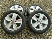 VOLKSWAGEN CADDY HIGHLINE ALLOYS + TYRES