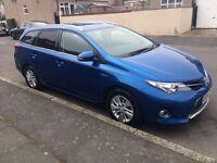 Toyota Auris Hybrid, Estate, Full Option, Reverse Camera, Bluetooth, New PCO