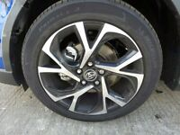 2017 TOYOTA C-HR alloy Wheel with michelin tyre