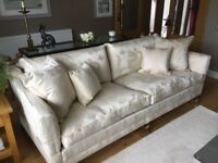Immaculate Duresta 4 seater couch, chair and stool