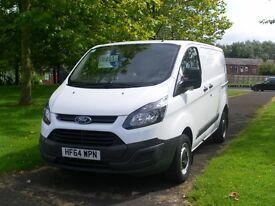 64 Reg Ford Transit Custom 270 Eco-Tech (38,000 Miles) 13 Months Free Warranty.. (FSH)