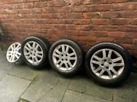 4x100 15 inch Honda Alloy Wheels