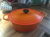 Le Creuset Casserole with lid
