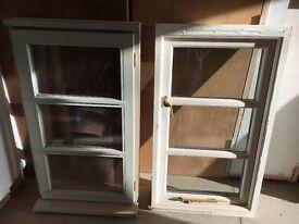 Used glazed wooden windows