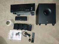 Yamaha RX-V477 Receiver & Tannoy 5.1 Speakers