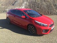 2014 Kia Ceed GT, High Performance Hot Hatch, with manufacturers warranty still remaining