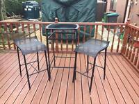 Garden table &stools