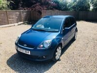 2007 Ford Fiesta 1.6 TDCI Ghia 5dr - full leather, privacy glass, 6 months MOT, new brakes and discs