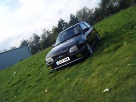 STUNNING MK2 ASTRA GTE LONG MOT RELIABLE SOLID RETRO CLASSIC MAY PX RS ETC NO OFFERS