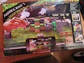 Minecraft stop motion set