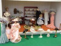 Dolls House (emporiuom) - hat / dress shop
