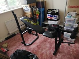 Exercise bench / multi use workout bench