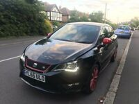 65 PLATE SEAT IBIZA FR RED / BLACK EDITION 13,000 MILES IMMACULATE CONDITION