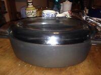Pyrex. Oven casserole dish