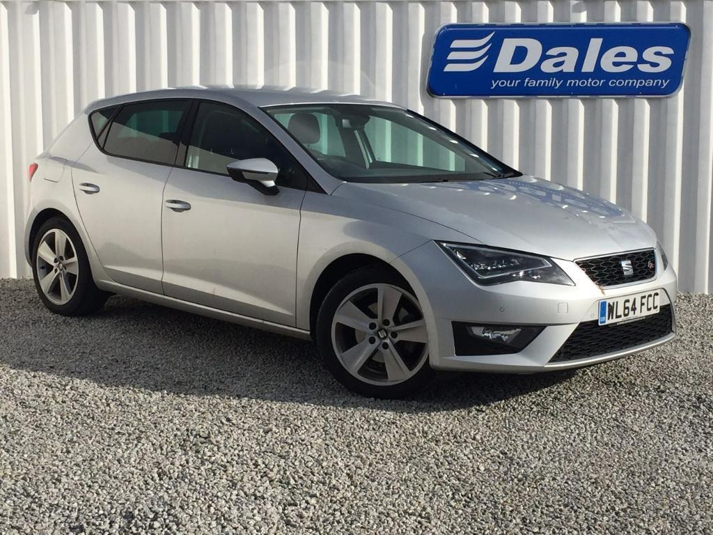 seat leon 1 4 tsi act 150 fr 5dr technology pack hatchback ice silver 2015 in redruth. Black Bedroom Furniture Sets. Home Design Ideas