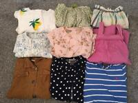 Girls 3-4 years bundle of dresses and skirts next and Ralph lauren