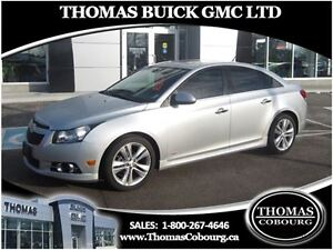 2013 Chevrolet Cruze LT Turbo - RS PACKAGE! SUNROOF, LEATHER!
