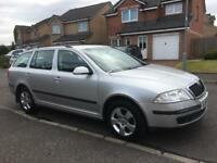 Skoda Octavia Ambiente 1.9 TDI Estate 2007 (FULL MOT) as Insignia Vectra Astra Focus Mondeo 308 A4