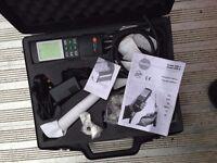 testo flu-gas analyser,printer and smoke pump