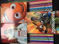 Three Disney dvds