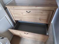 Two chests of drawers