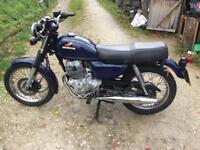 Honda cd250u 1990 full mot