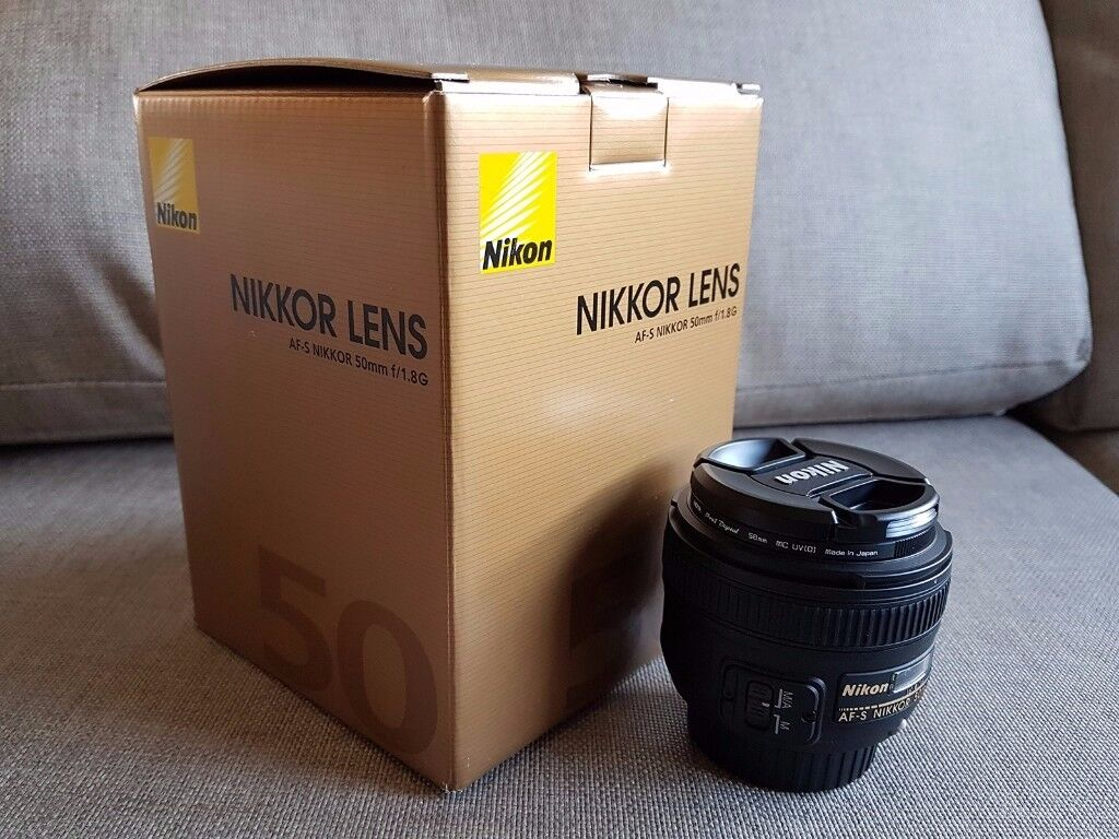 Nikon Af S Nikkor 50mm F 18g Lens Mint In Slateford Edinburgh 18d