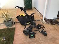 Powakaddy Golf Trolley with Battery and Charger.