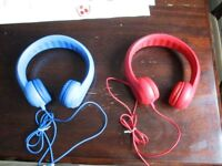 Baby/toddler headphones with volume limiter, hardly used, £10 each