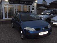 Renault Megane 1.4 petrol 2002 mot 2 september 2017
