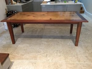Handmade dining room table North Sydney North Sydney Area Preview