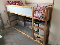 Wooden Bunk bed without mattress