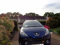 Peugeot 207 SW Estate 2007 (57 plate )