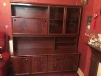 Dark wood Sideboard cabinet