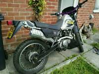 Suzuki Dr 125 Road reg 125cc enduro motocross mx sx pit bike off road legal £750 250cc, yz crf rm kx