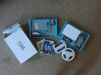 Wii games console bundle