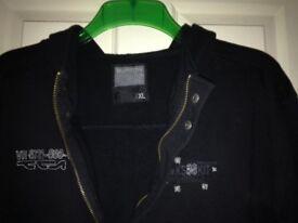 Men's Burton black hoodie. Ex Large (smallish fit) Great condition