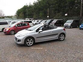 2009 Peugeot 207 CC Sport New Mot Just Serviced