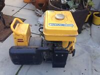 Petrol generator very good cond just need Euro plug for it must go