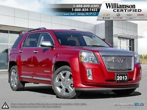 2013 GMC Terrain DENALI**LTHR**NAV**SUNROOF**BCK UP CAM