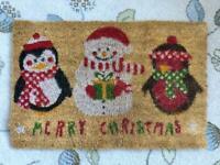 *Reduced* Festive Christmas Door mat