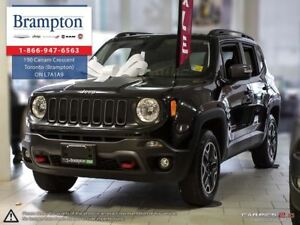 2016 Jeep Renegade TRAILHAWK 4X4 | TRADE-IN | LOW KMS | 6.5 IN T