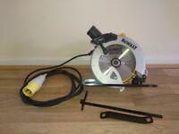 DeWALT Kitbox Circular Saw 110 Volt