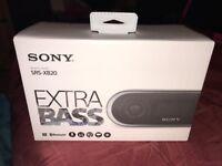 Sony Extra Bass Wireless Bluetooth Speaker SRS-XB20 (Brand New)
